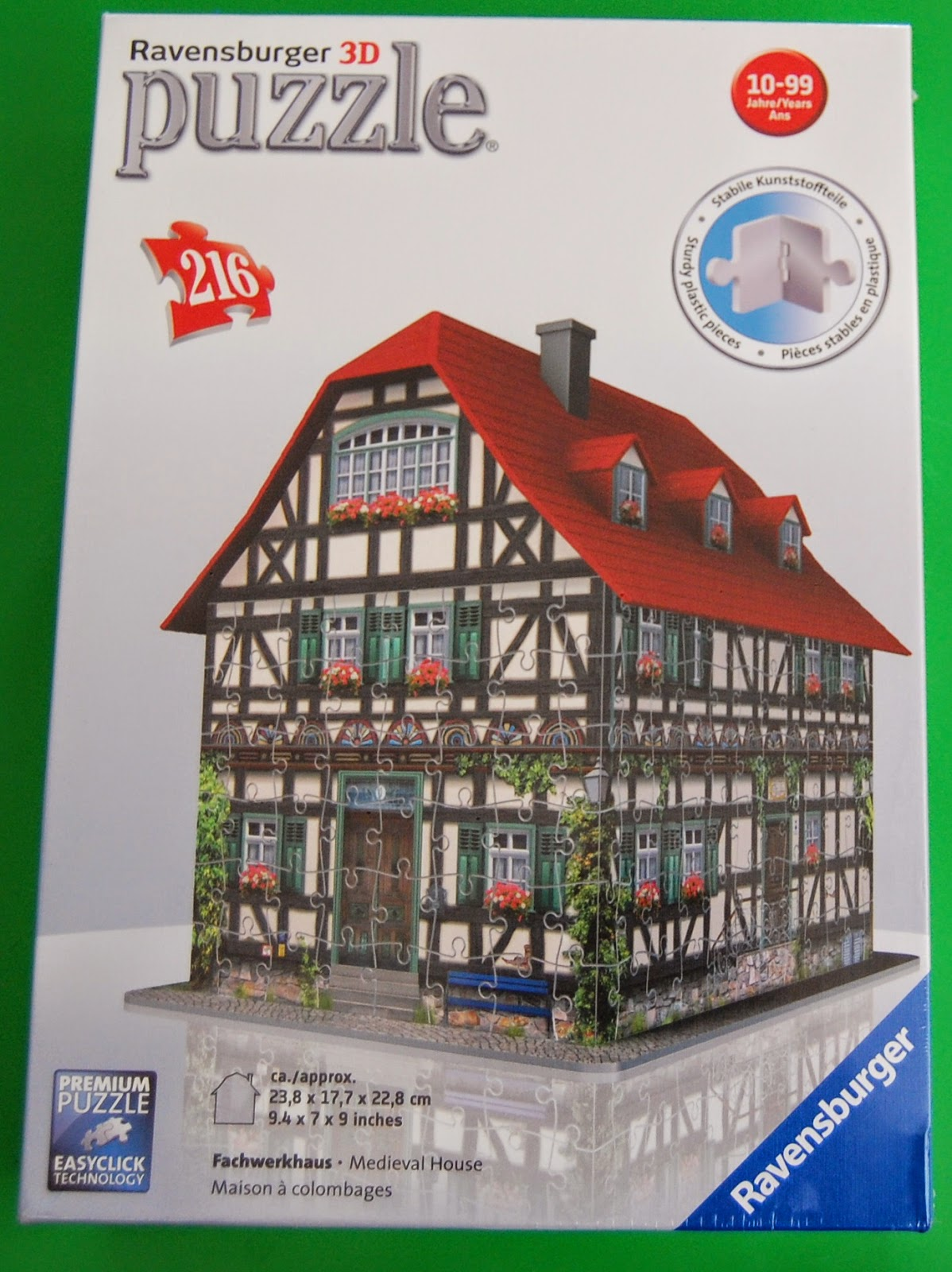 Ravensburger 3d Medieval House Puzzle My Three And Me