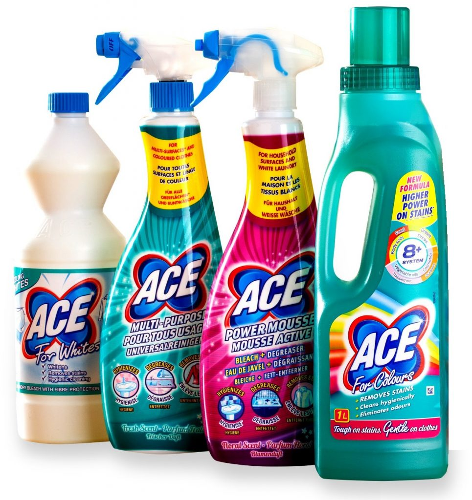 ACE laundry products