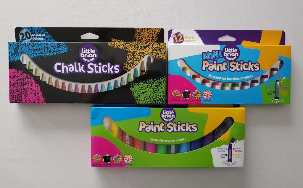 bundle of little brian paint sticks