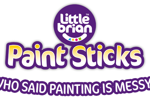 Little Brian Paint Sticks Logo