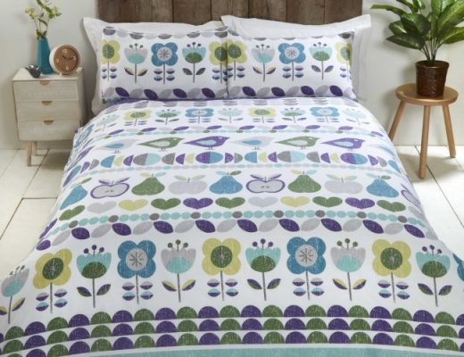 hygge blue bedding from Yorkshire Linen