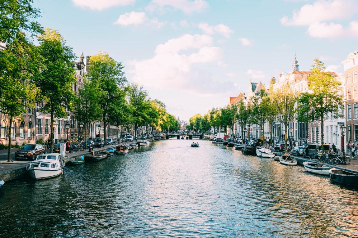 An Amsterdam river
